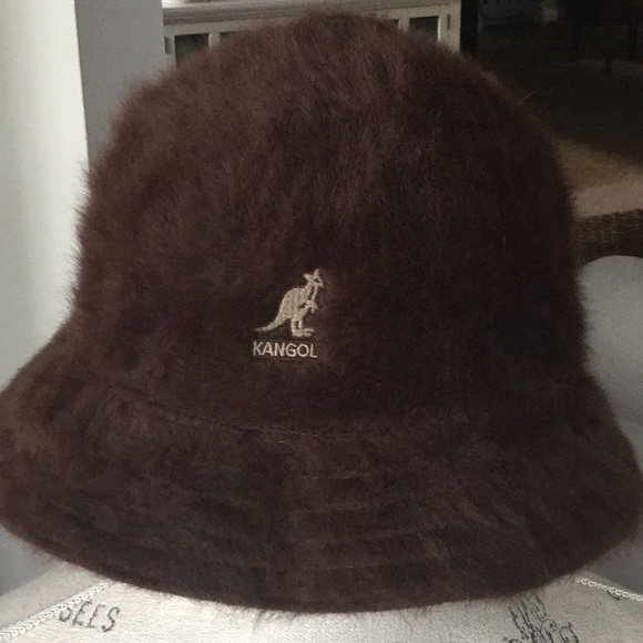 4b214b987cc Kangra Cashmere Accessories - Kangol casual bucket hat. Brown large.